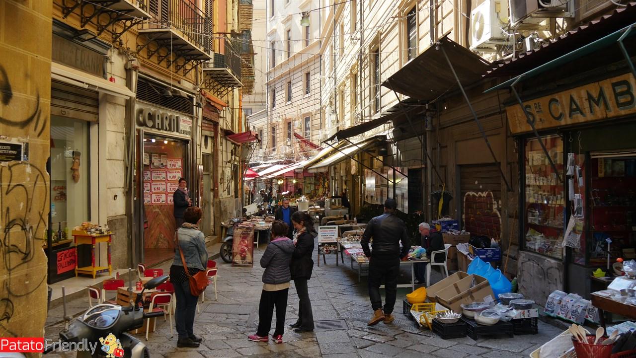 Cosa vedere a Palermo - L'antico Mercato della Vucciria