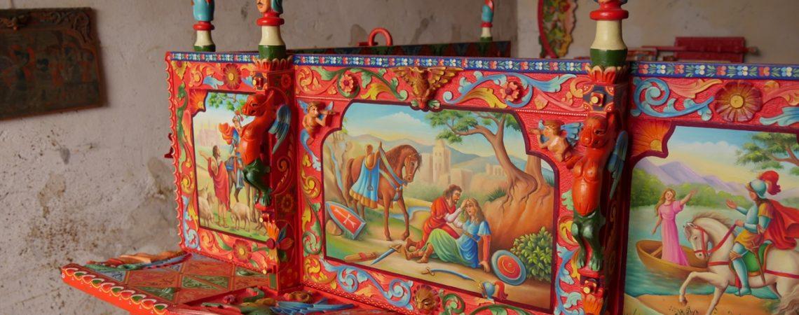 Da vedere a Ragusa - il carretto siciliano