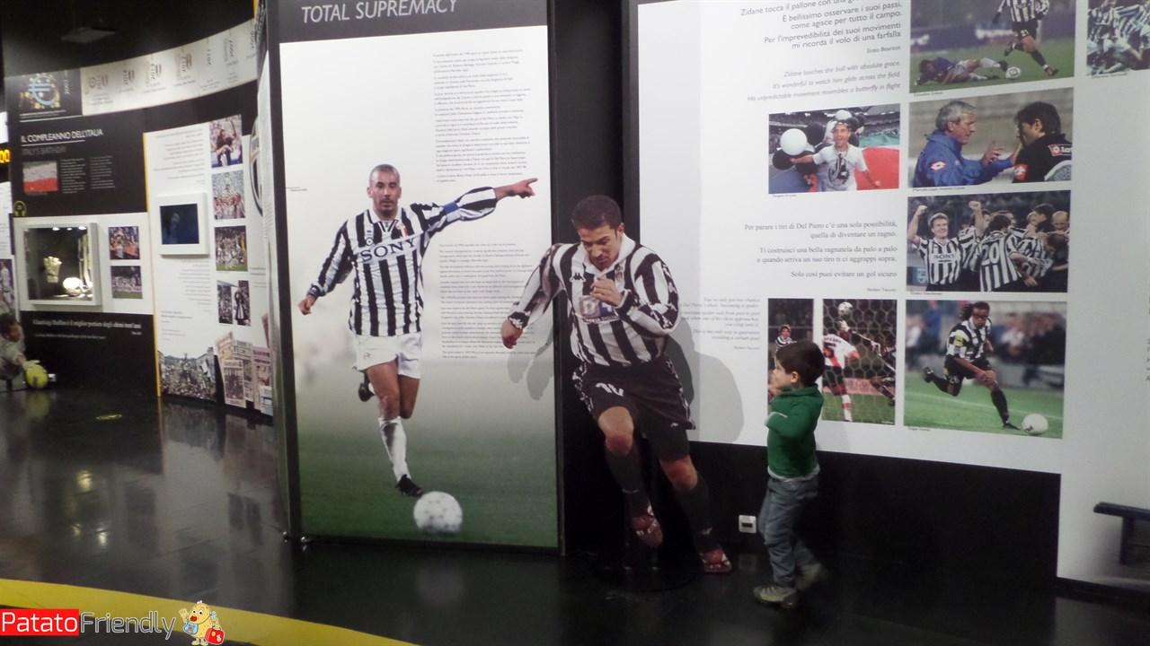 Juventus Museum Torino - Del Piero, l'idolo della mia generazione