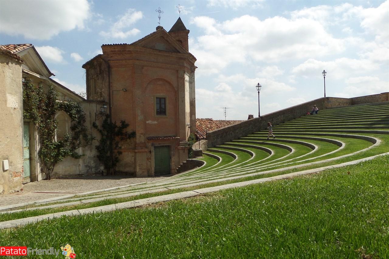Monforte d'Alba - La scala d'erba