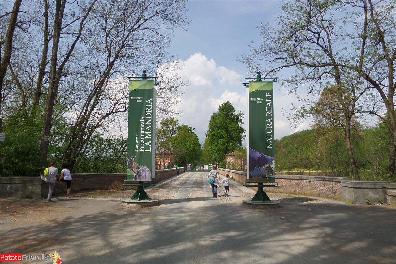 Parco della Mandria di Torino - dove si entra