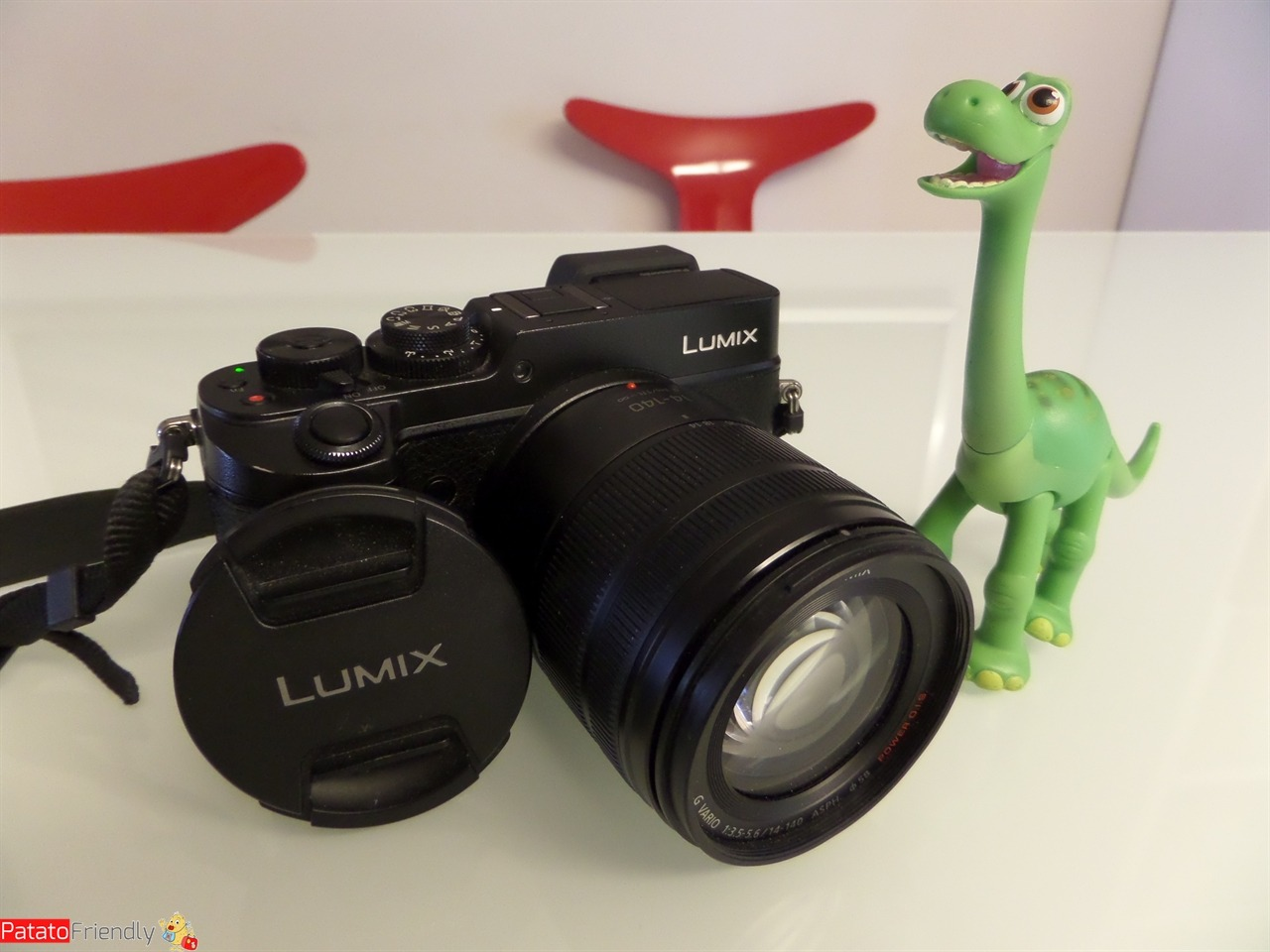 Panasonic Lumix GX8 dimensioni