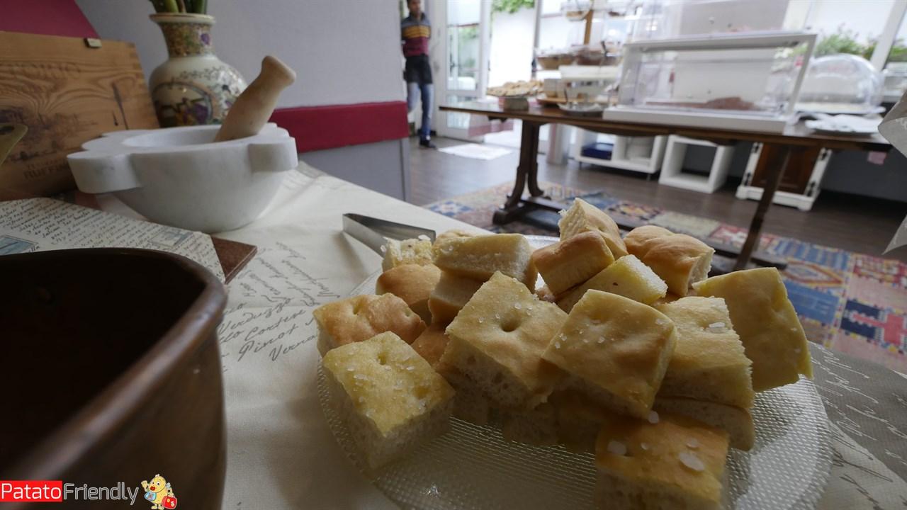 Villa Giada Resort Imperia - Colazione ligure con prodotti locali