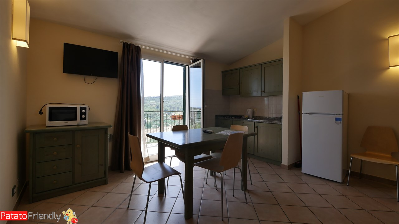Villa Giada Resort Imperia - La zona living del nostro appartamento