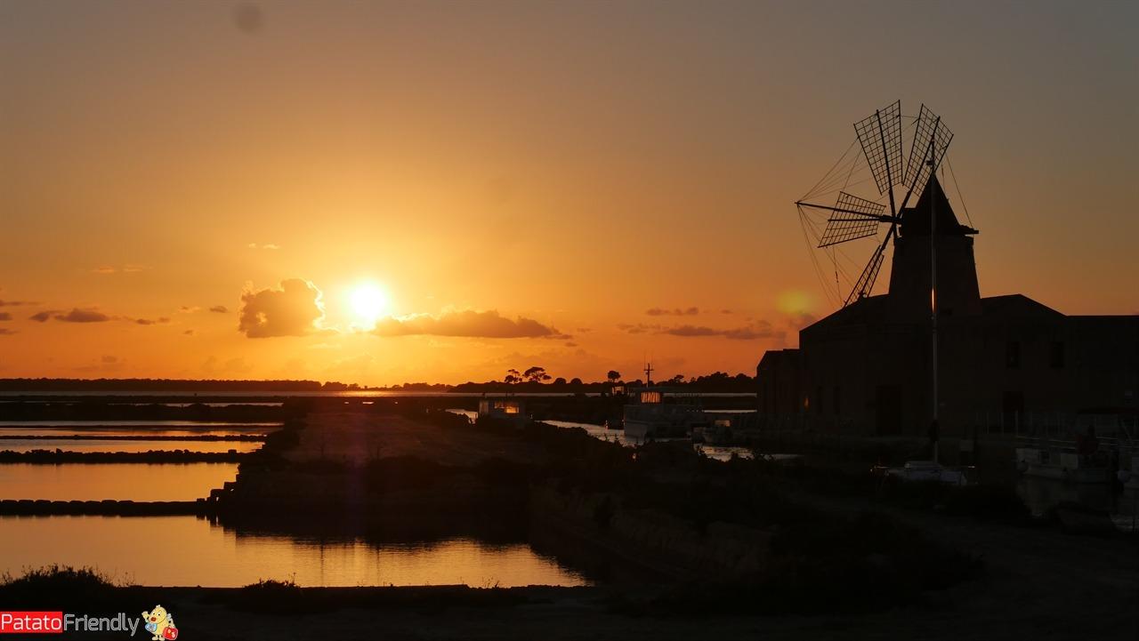 Dove vedere il tramonto a Marsala