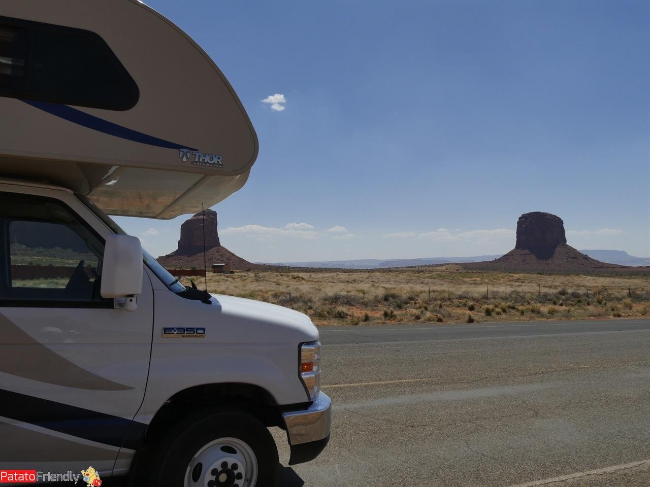 Il nostro viaggio in camper in USA - In camper nella Monument Valley