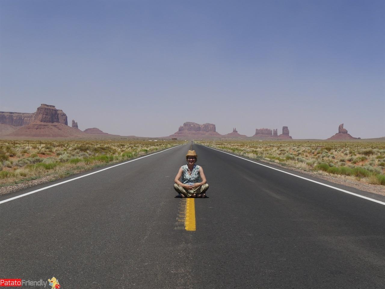 Il nostro viaggio in camper in USA - Nella Monument Valley