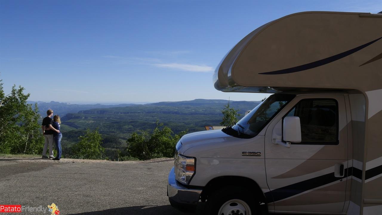 Il nostro viaggio in camper in USA - Sulla strada per il BRyce Canyon