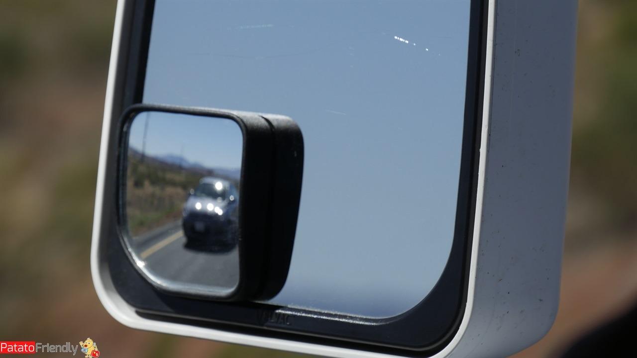 Il nostro viaggio in camper in USA - Un'auto impaziente