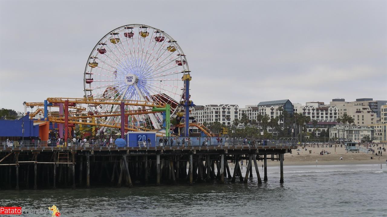 Los Angeles - Il Santa Monica Pier