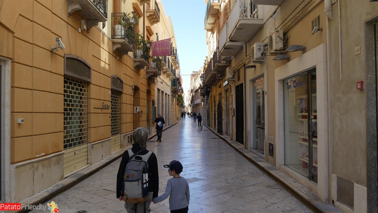 Passeggiata a Marsala coi bambini