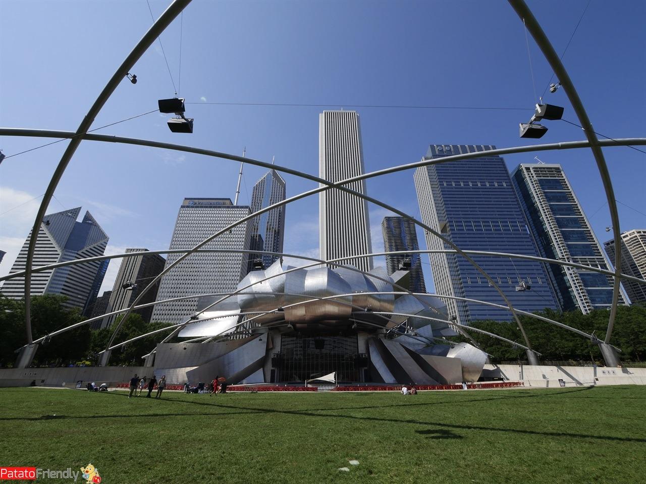 Chicago - Il Millennium Park