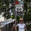 Chicago - Il cartello che segna l'inizio della mitica Route 66