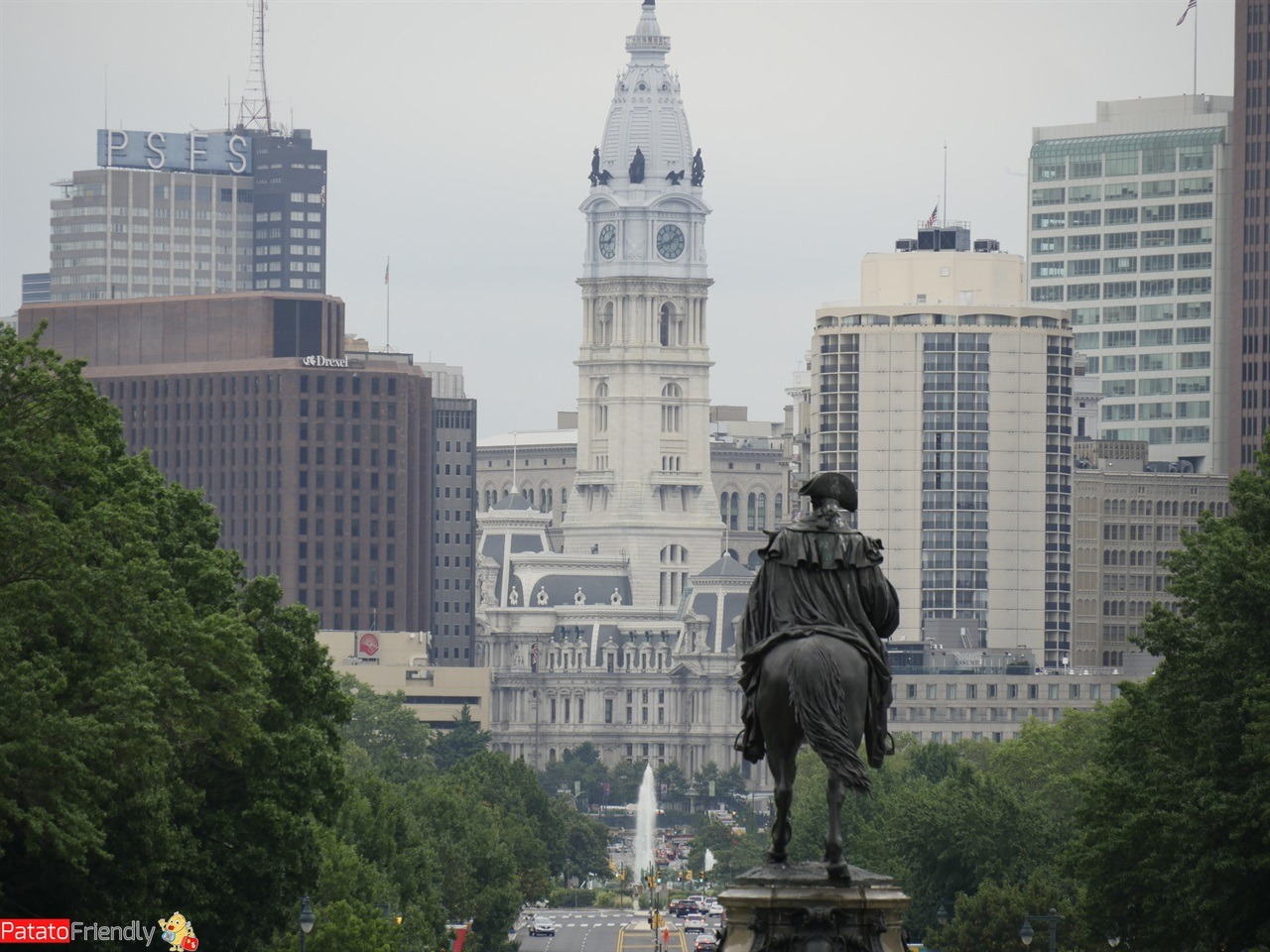 Philadelphia - Vista sul City Hall