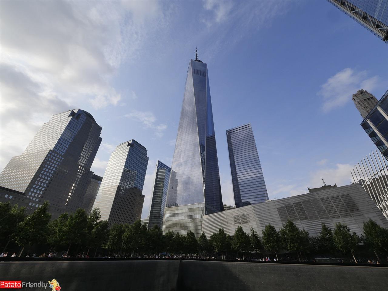 Vedere New Yorl - Memoriale 11 settembre