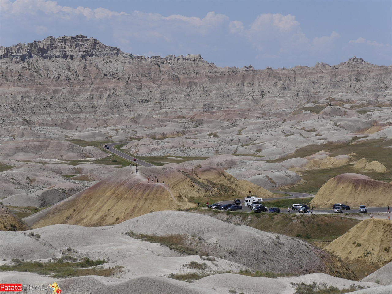 Viaggio in South Dakota Badlands