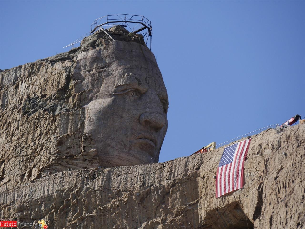 Viaggio in South Dakota Crazy Horse Memorial