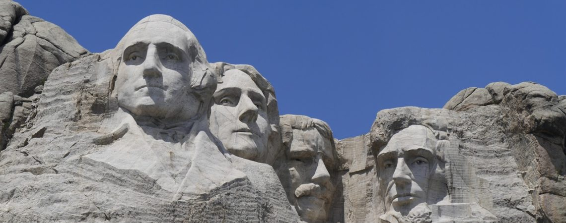 Viaggo in South Dakota Mounth Rushmore