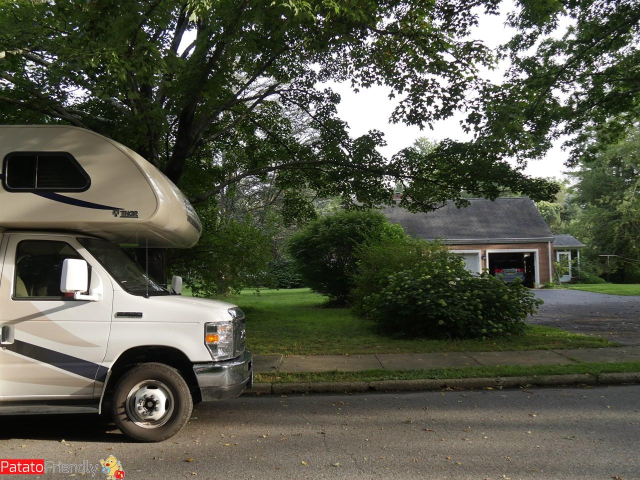 [cml_media_alt id='12190']In camper alla nostra casa nel New Jersey[/cml_media_alt]