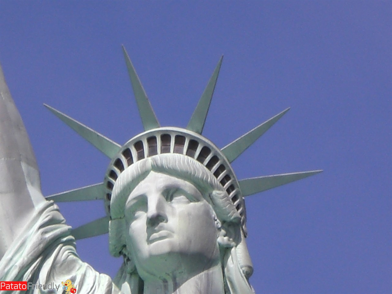 New York in famiglia Statua della Libertà