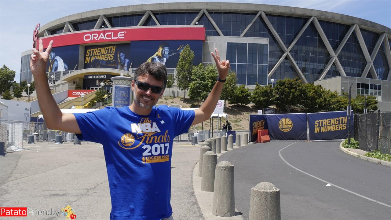 Roberto alla Oracle Arena