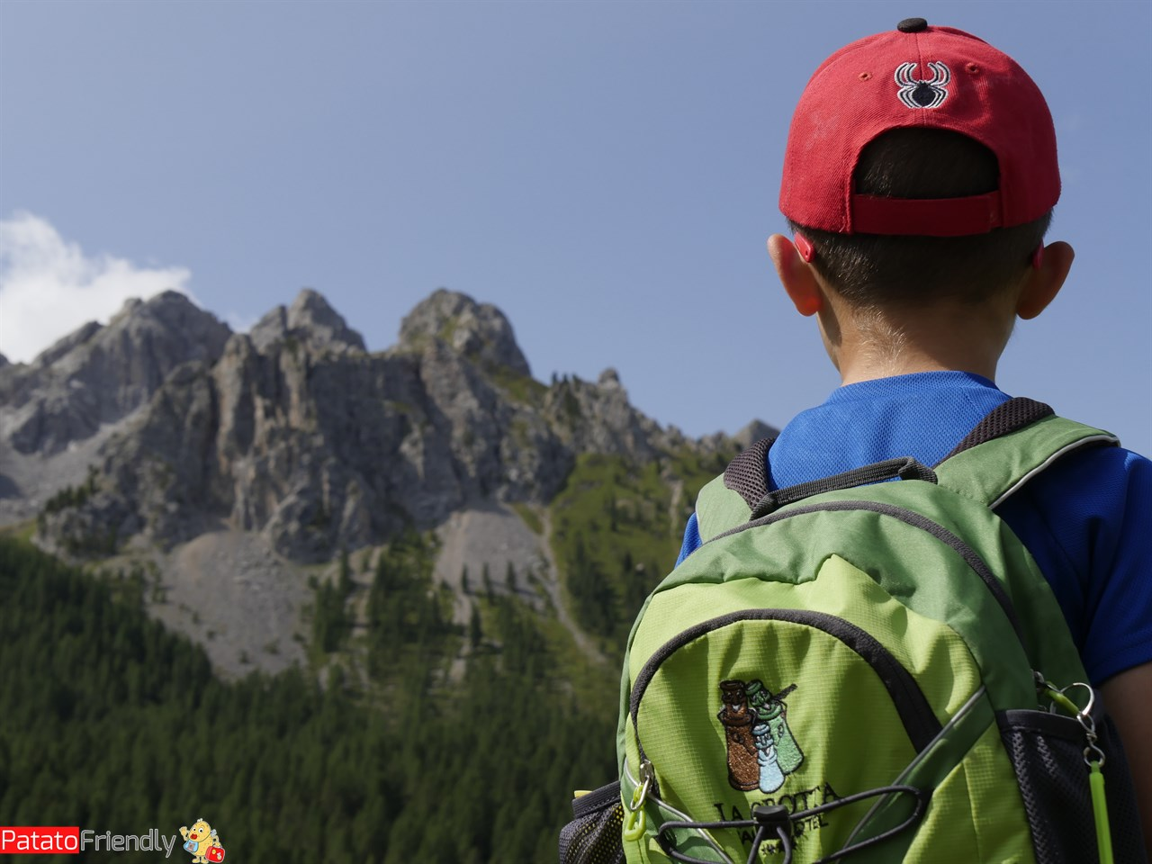 Trekking in Val di Fassa coi bimbi