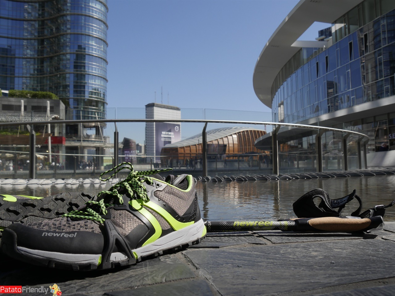 Le scarpe da Nordic Walking Newfeel di Decathlon