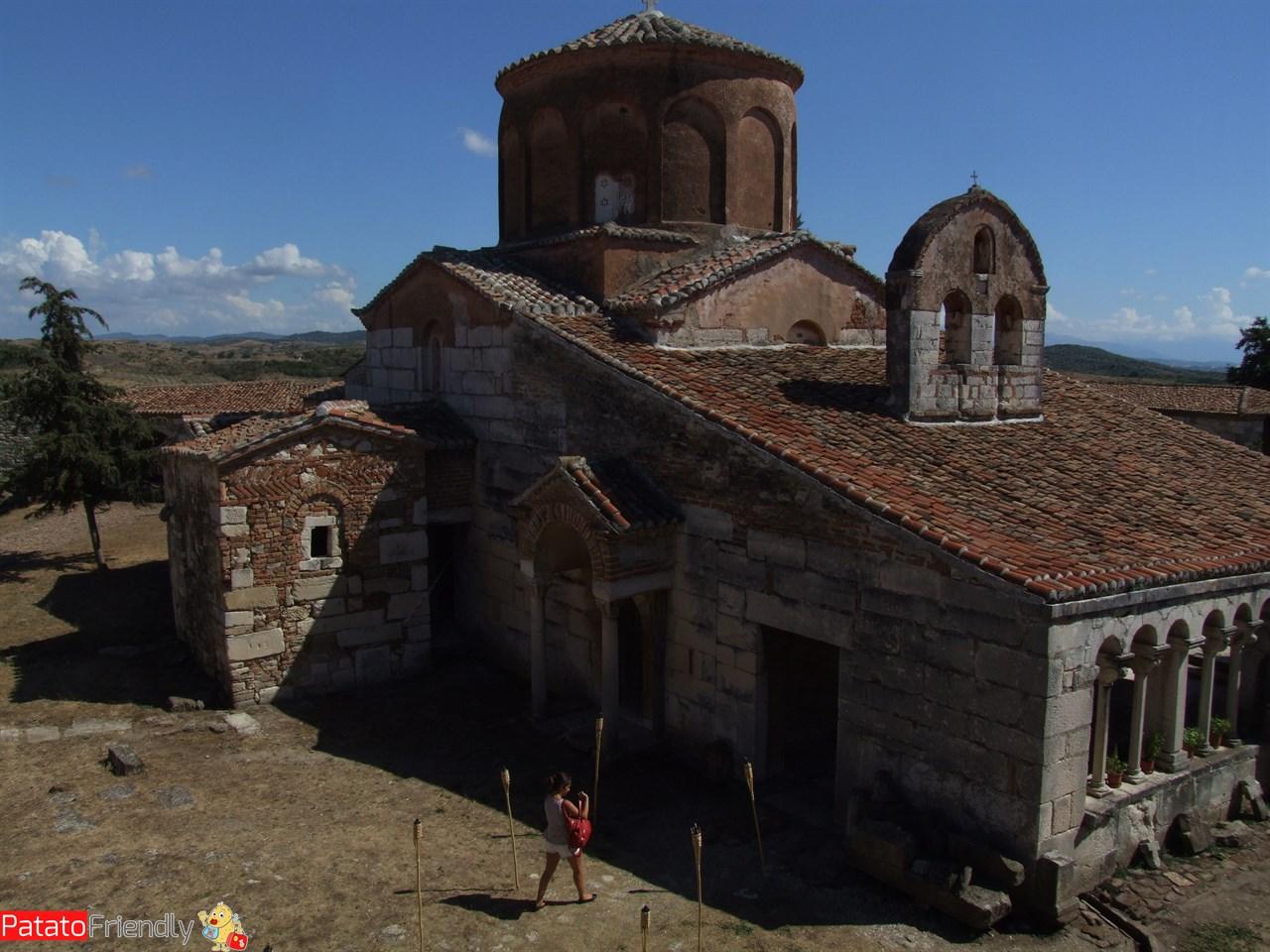 Il sito archeologico di Apollonia - monastero