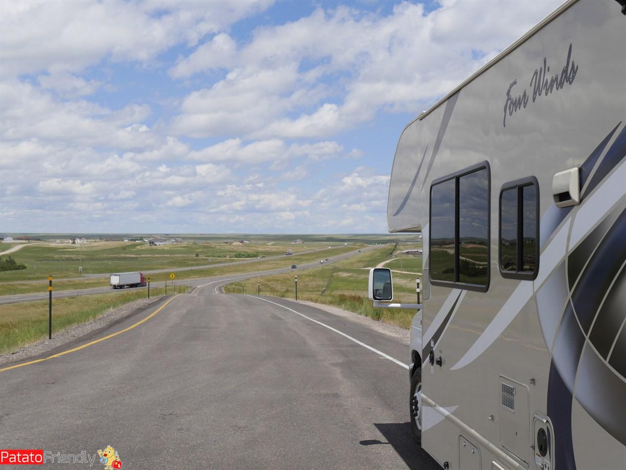 Stati Uniti in camper a Fort Laramie - noleggiare un camper in America