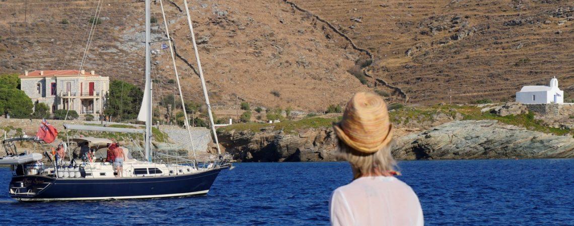Isola di Kea - Il porto di Korissia