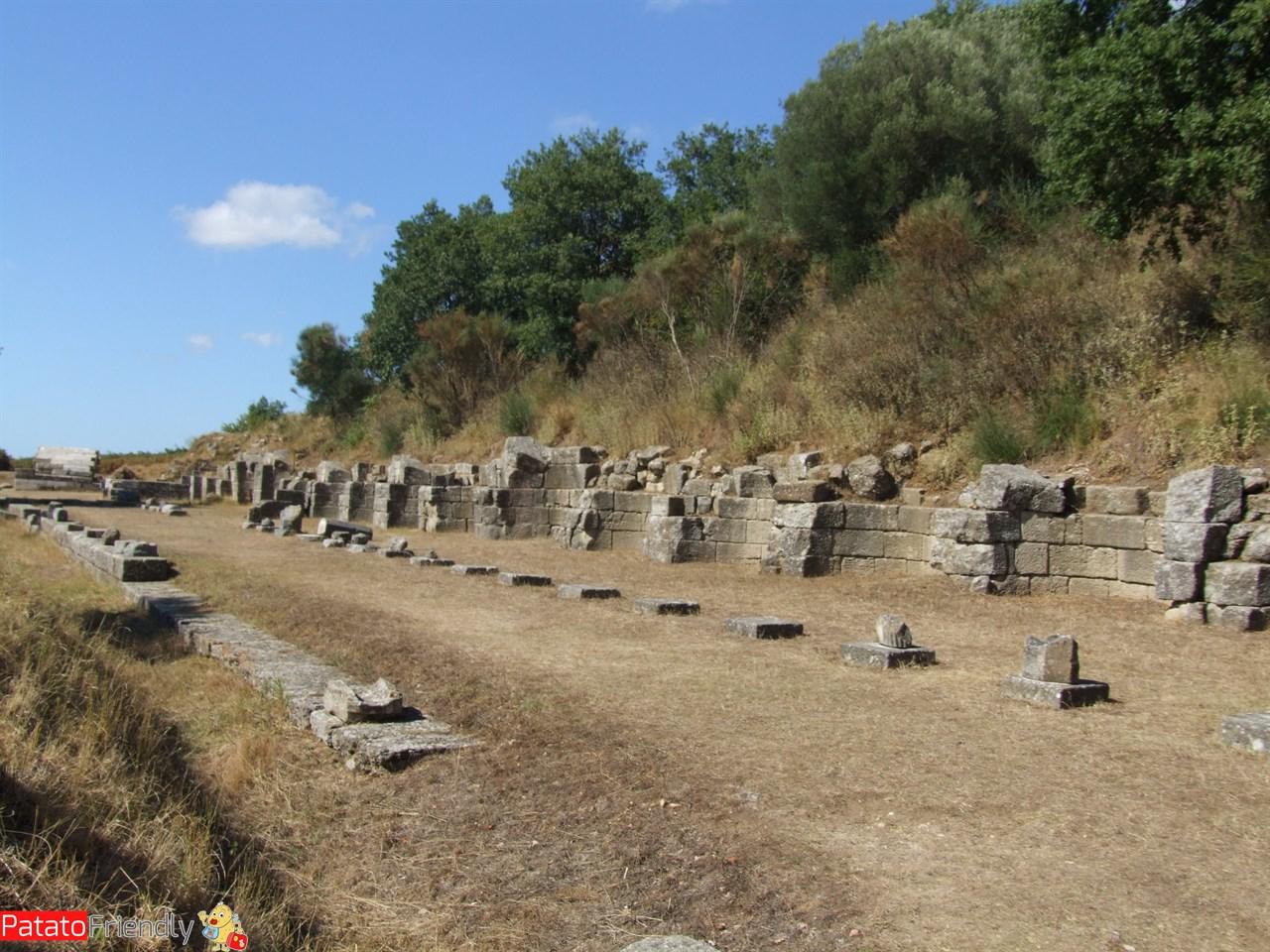 Le rovine di Apollonia in Albania