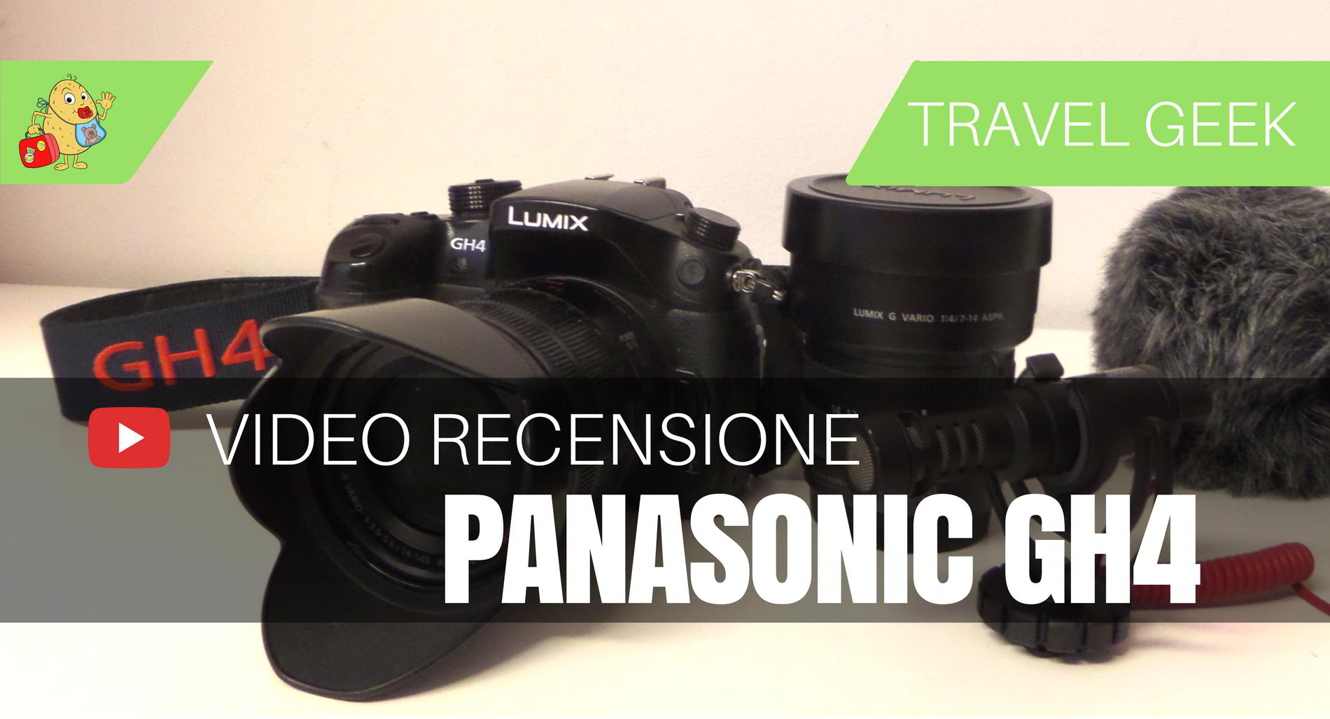 Recensione Panansonic GH4