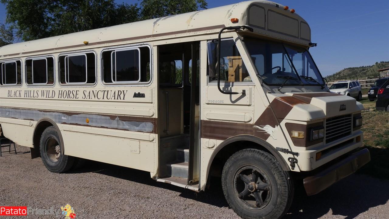 Il bus con cui abbiamo effettuato la visita del Sanctuary