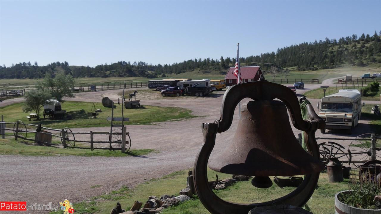 Il centro del Wild Horse Sanctuary