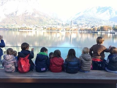 Scoprire Lecco con i bambini - gli alunni