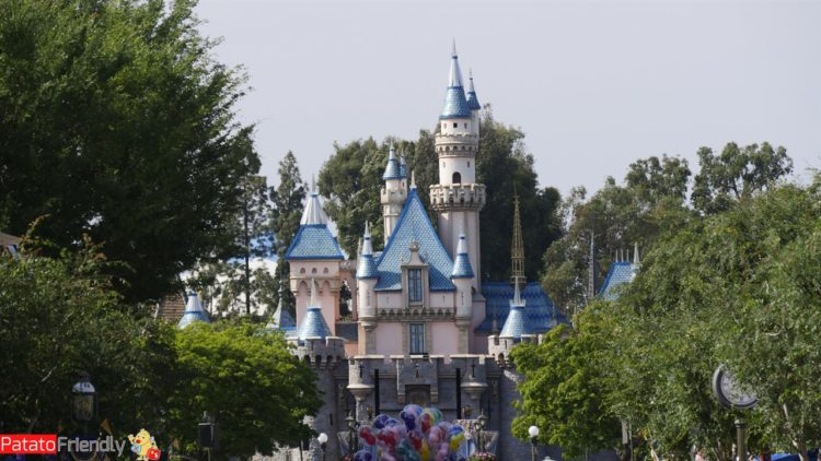 Il Castello Disneyland a Los Angeles