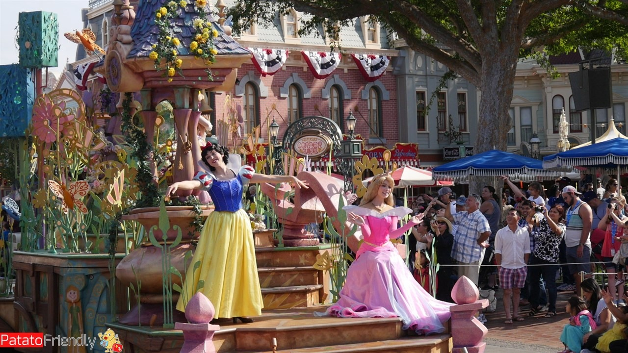 Le principesse Disney di Los Angeles