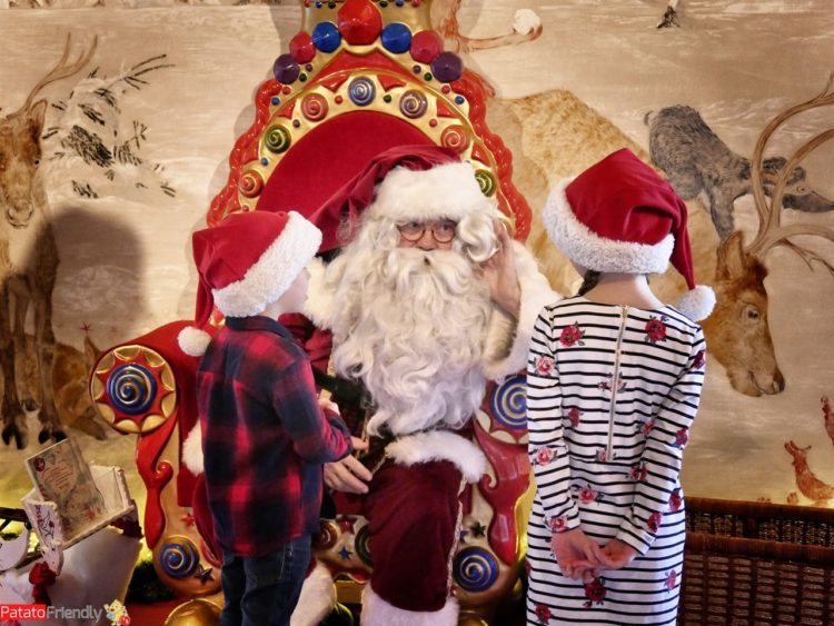 Natale a Montreux coi bambini - Babbo Natale