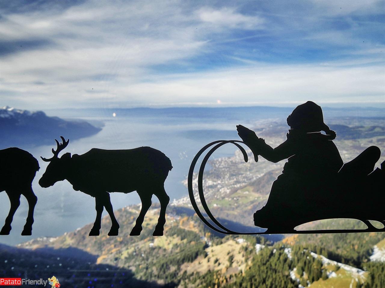 Natale a Montreux coi bambini - La Casa di Babbo Natale