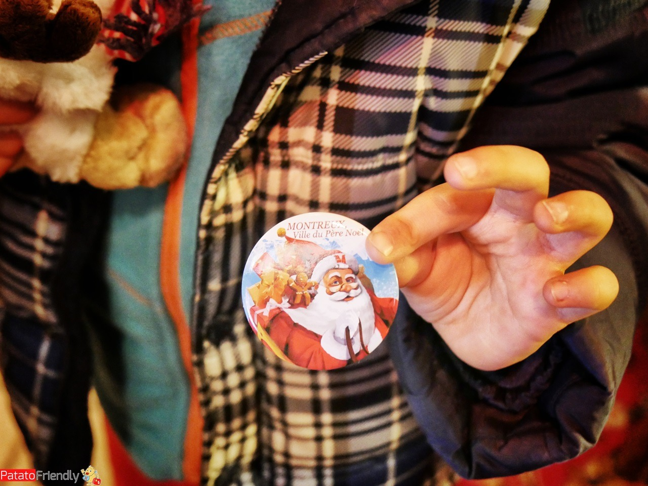 Natale a Montreux coi bambini - La spilla di Babbo Natale