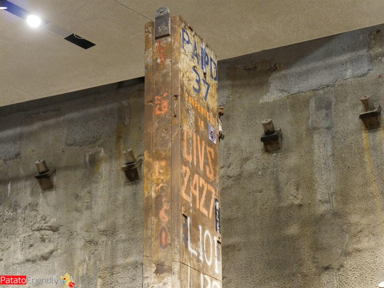 Visita al museo dell'attentato di New York