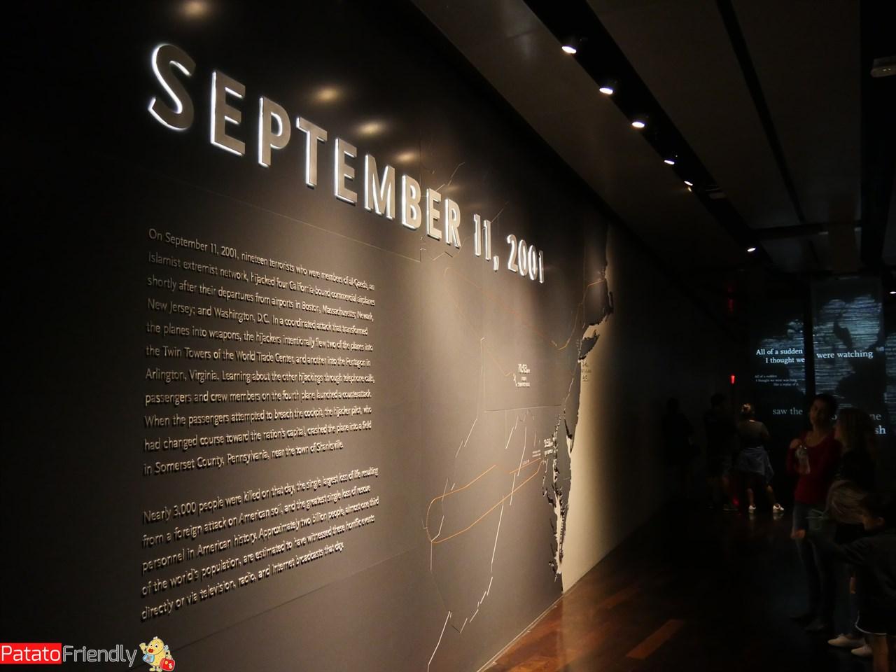 Visitare il museo dell'11 settembre