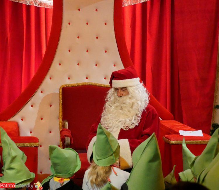 Babbo Natale all'accademia degli Elfi