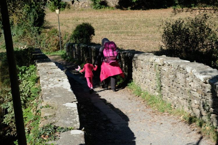 Il Cammino di Santiago con un bambino - credits: Rosaria