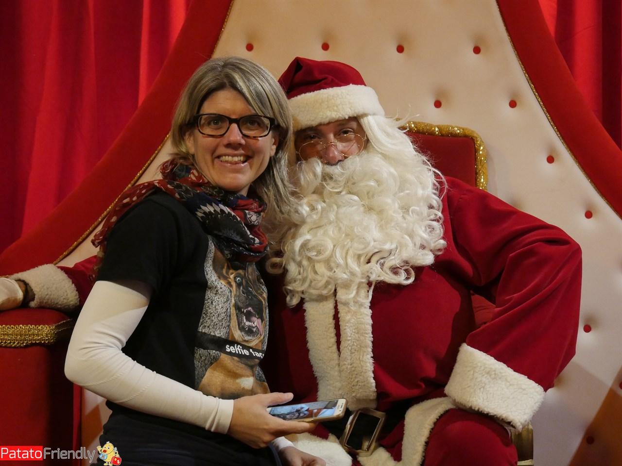 Francesca e Babbo Natale a Riva