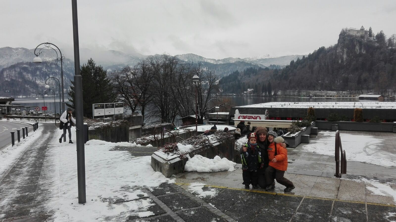Lago di Bled in inverno - credits: Lara