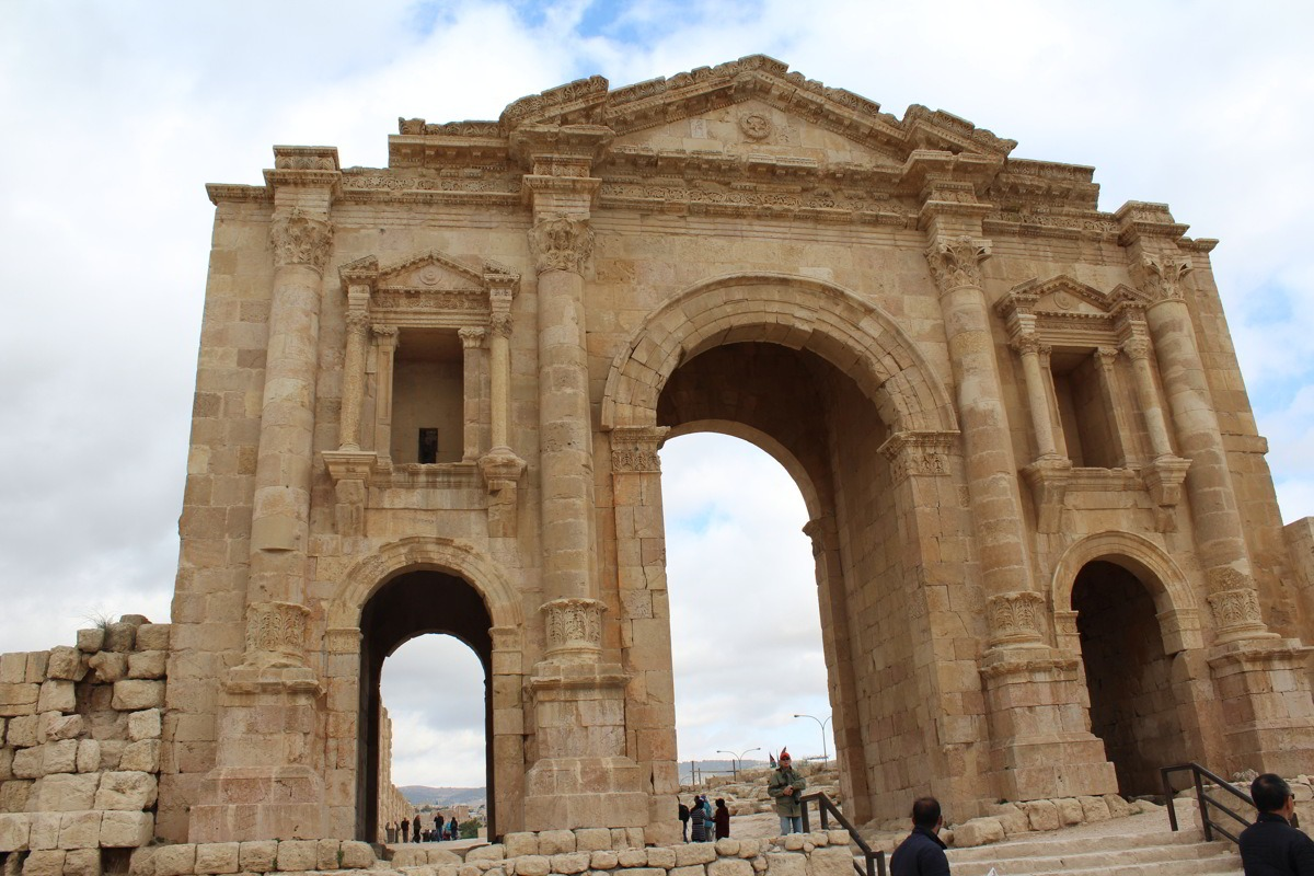[cml_media_alt id='13343']Viaggio in Giordania - Jerash Porta di Adriano[/cml_media_alt]