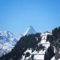 Alestch Arena Vallese il panorama del Cervino visto da Riederalp