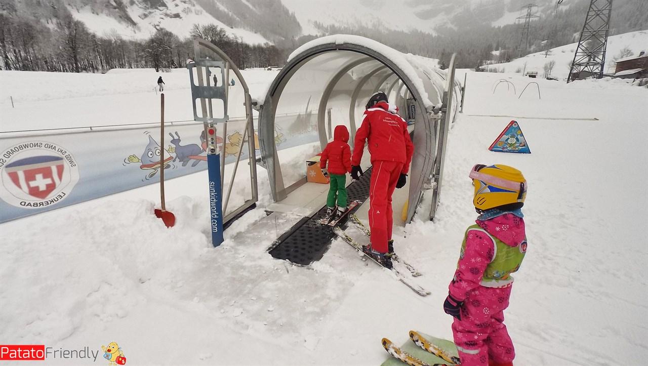 Imparere a sciare bambini