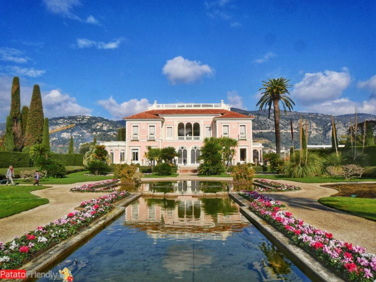 Costa Azzurra in inverno - La Villa Ephrussi de Rothschild